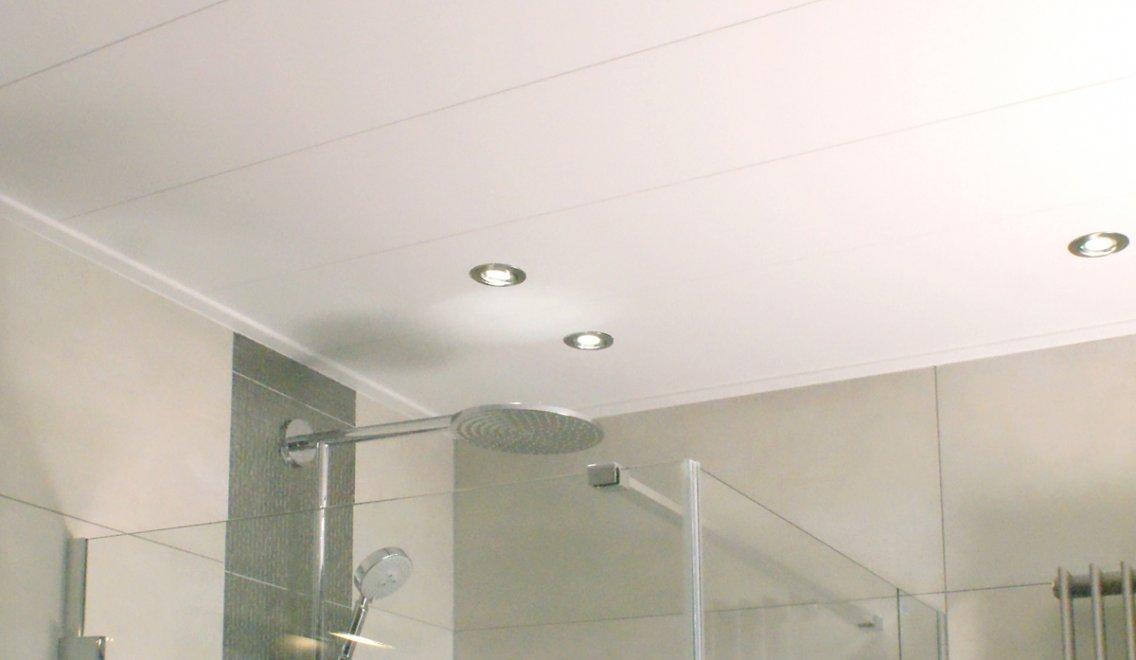 Badkamer Plafond Kunststof : Kuntstof plafonds kunststof panelen voor al uw ruimtes binnenshuis