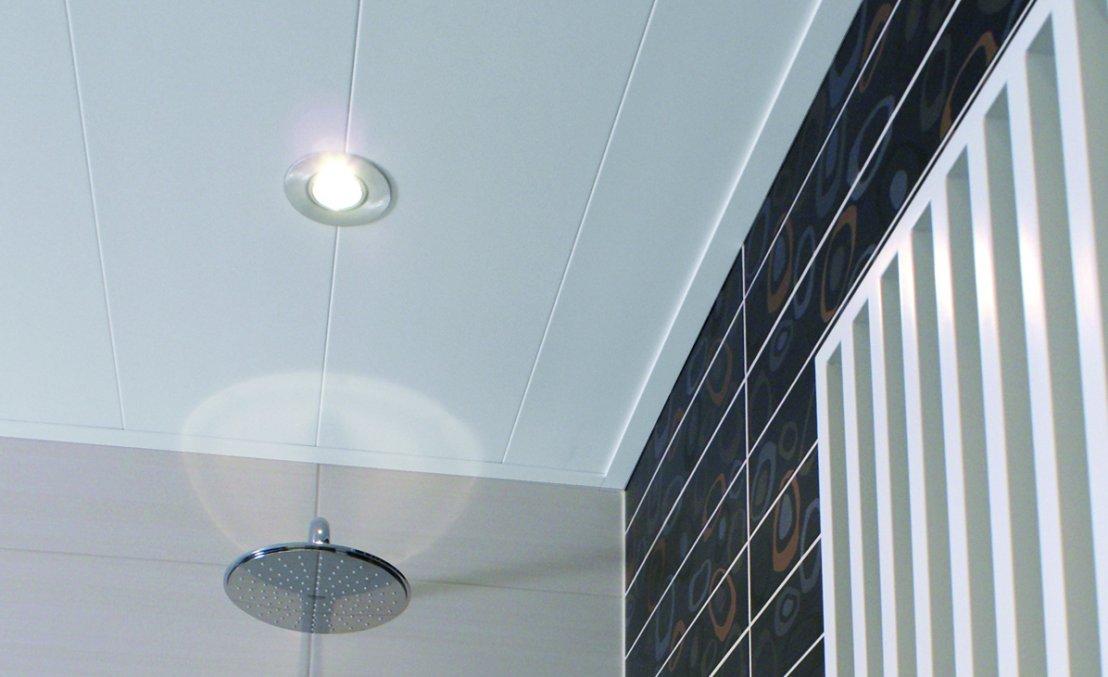 Kunststof Plafond Badkamer : Pvc plafond badkamer